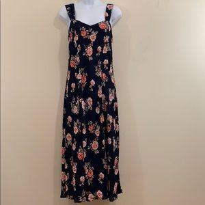 Chadwicks Sleeveless Floral Full Length Dress